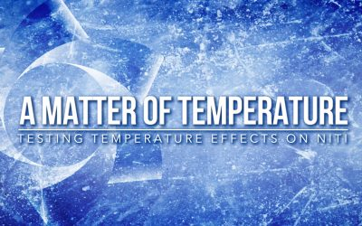 Testing Temperature Effects on NiTi Cyclic Fatigue